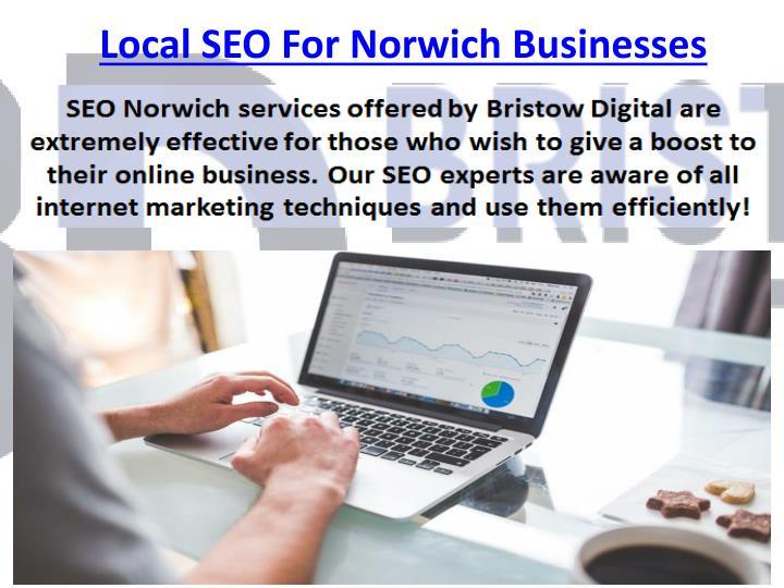 Local SEO For Norwich