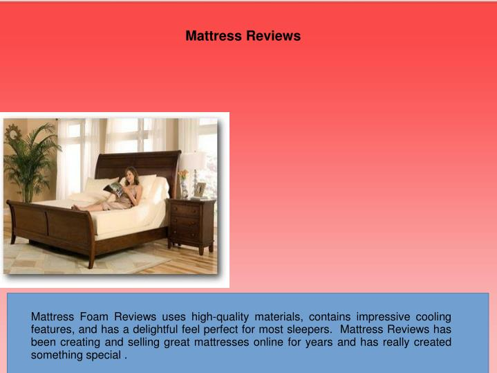 Mattress Reviews