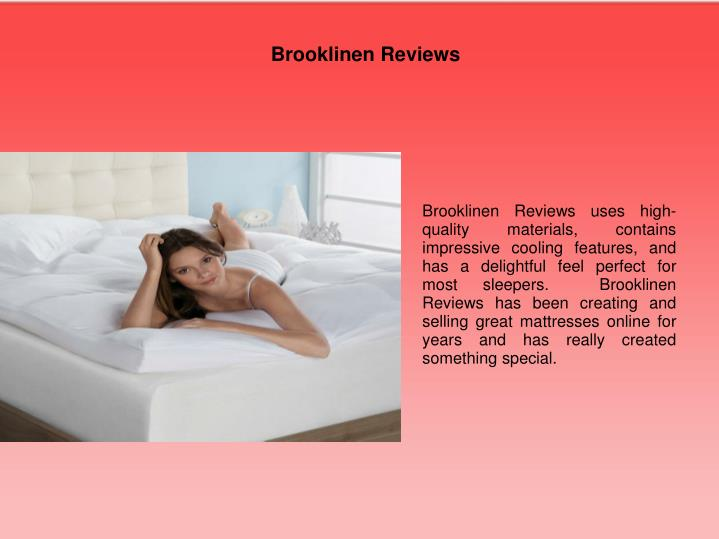 Brooklinen Reviews