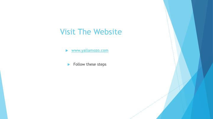 Visit the website
