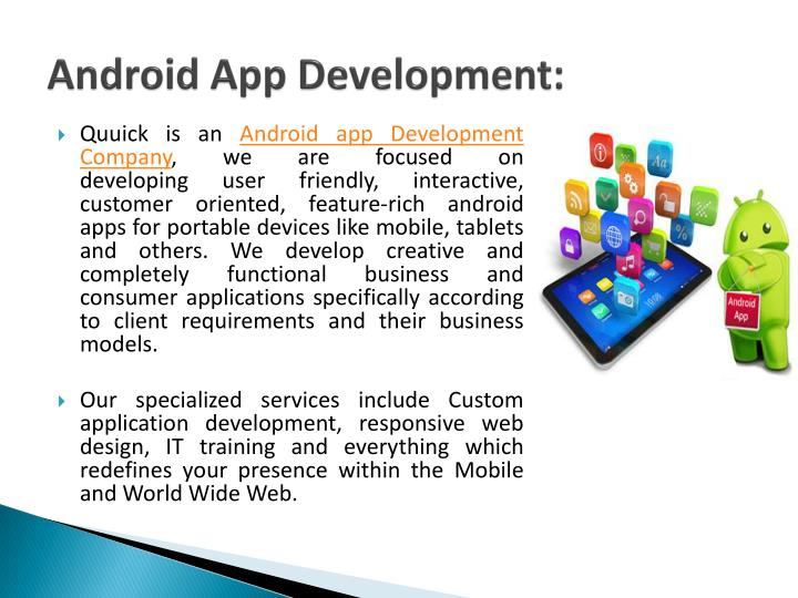 Android App Development: