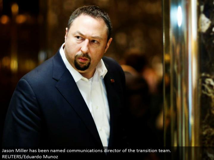 Jason Miller has been named interchanges executive of the move group. REUTERS/Eduardo Munoz
