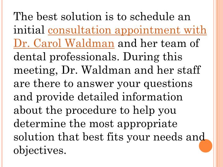 The best solution is to schedule an initial