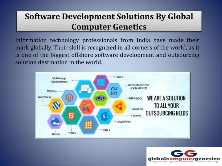 Software Development Solutions By Global Computer Genetics