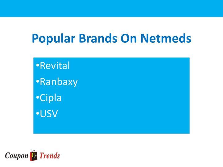 Popular Brands On
