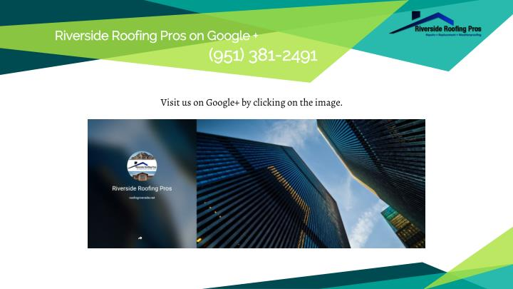 Riverside Roofing Pros on Google +