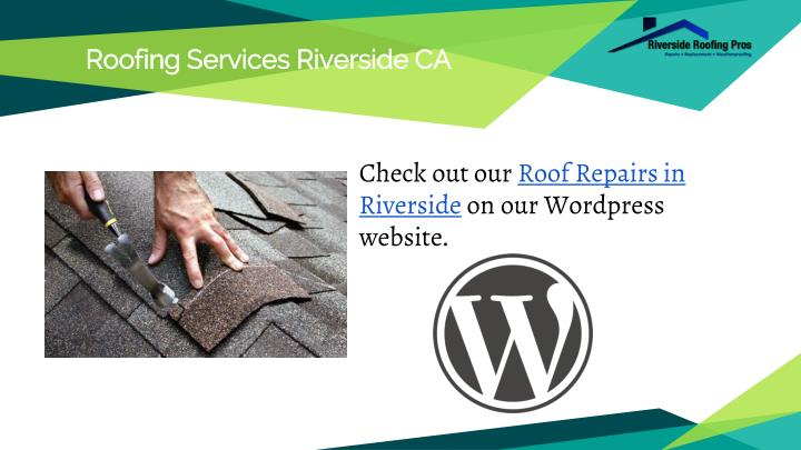 Roofing Services Riverside CA