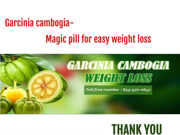 Garcinia cambogia-