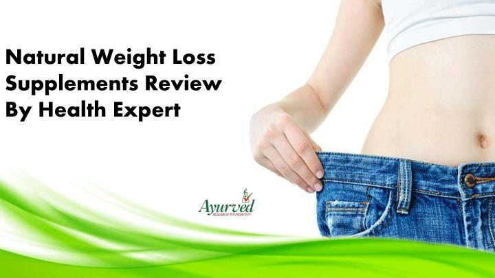 Natural Weight Loss Supplements Review