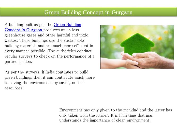 Green Building Concept in