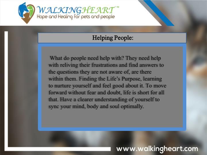 Helping People: