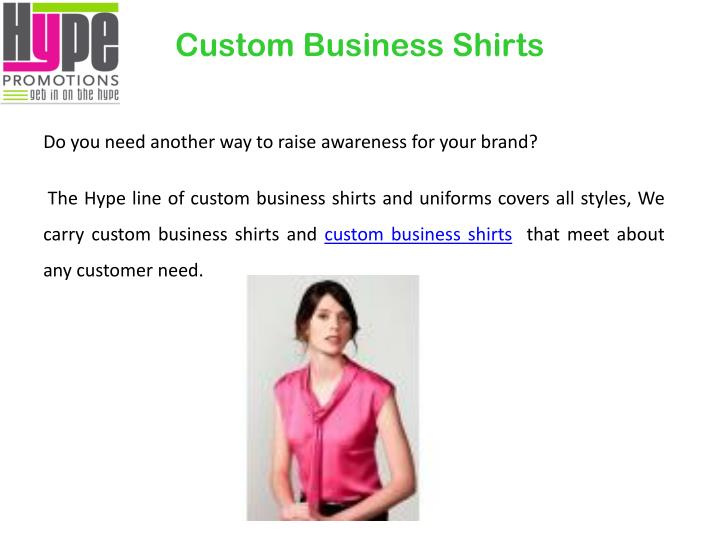 Custom Business Shirts