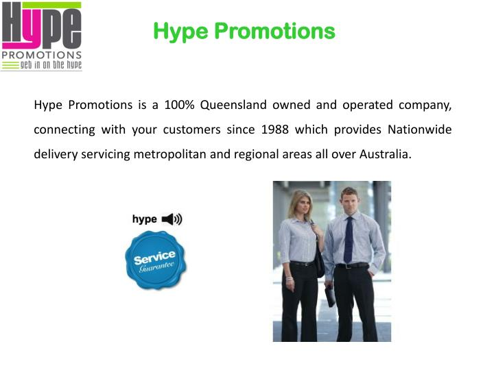Hype promotions