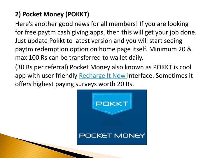 2) Pocket