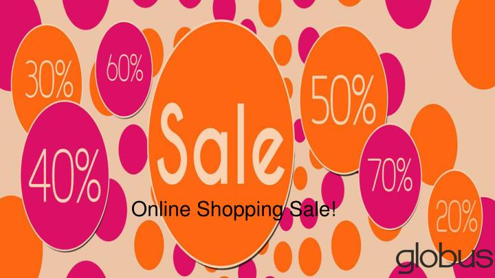 Online Shopping Sale!