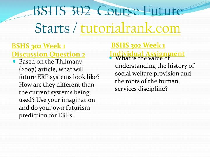 Bshs 302 course future starts tutorialrank com2