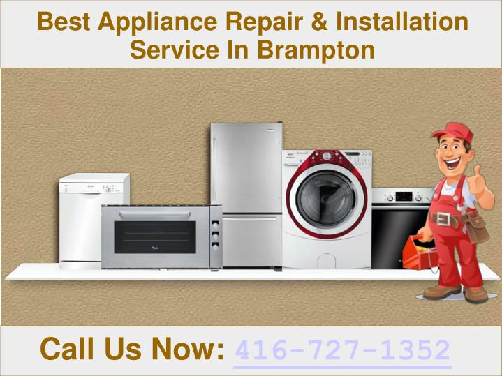 Best Appliance Repair & Installation