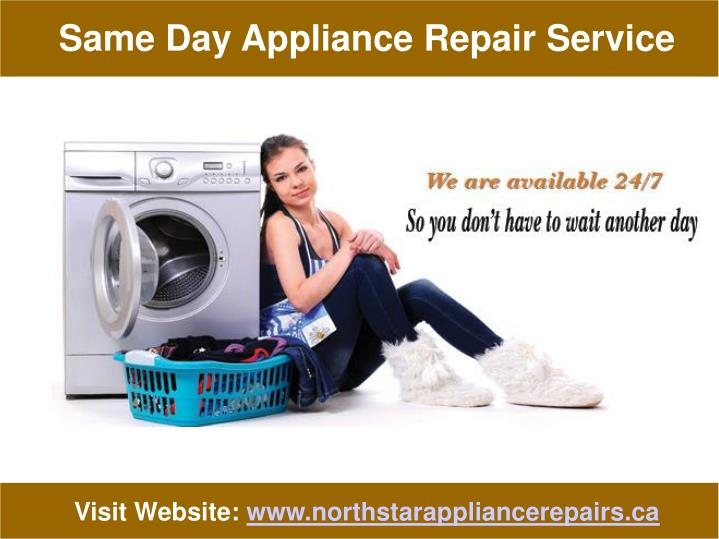 Same Day Appliance Repair Service