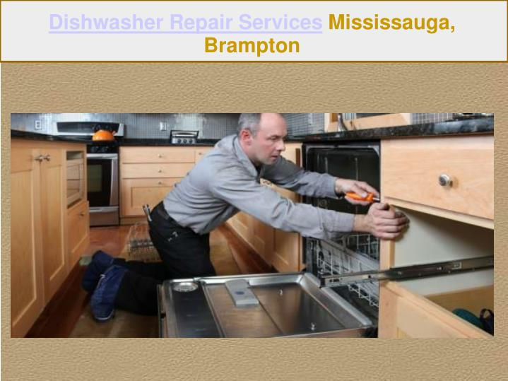 Dishwasher Repair Services Mississauga,
