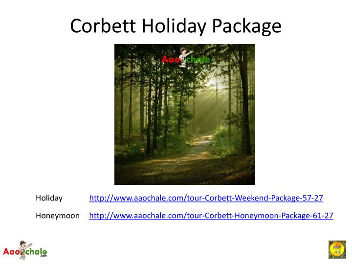 Corbett Holiday Package
