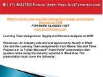 bis 375 master future starts here bis375master com16