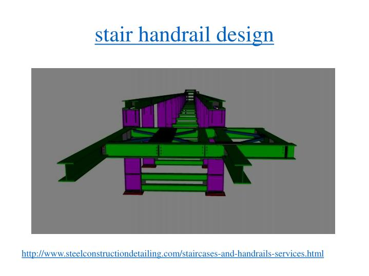 stair handrail design
