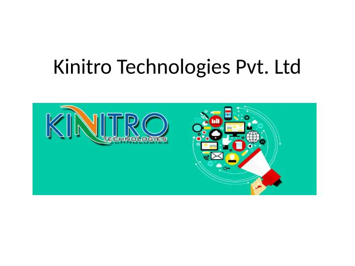 Kinitro Technologies Pvt. Ltd