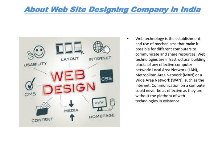 About web site designing company in india