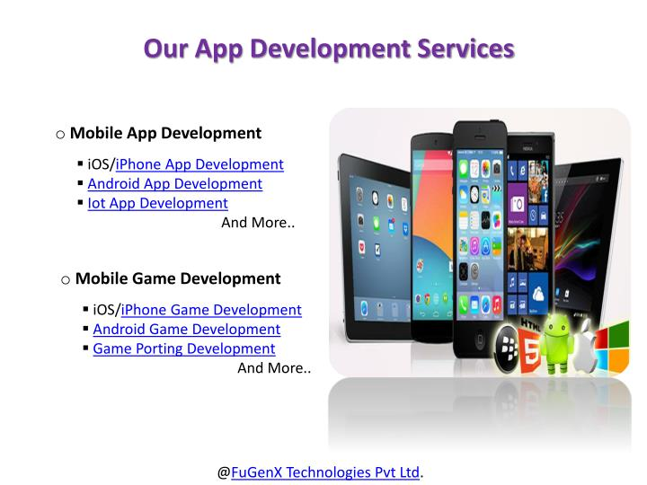 Our App Development Services