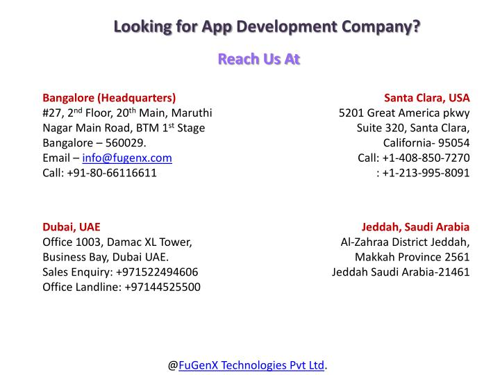 Looking for App Development Company?