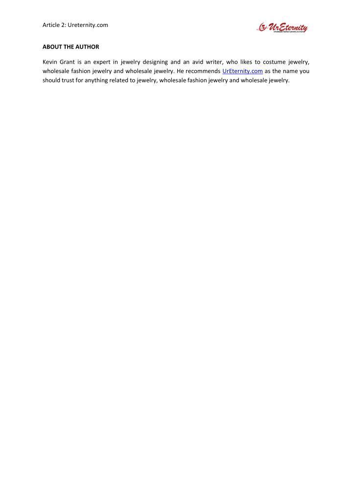 Article 2: Ureternity.com
