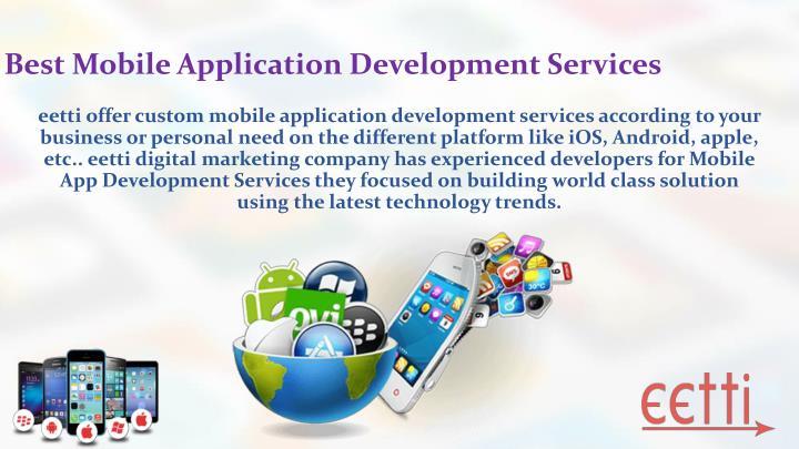 Best Mobile Application Development Services