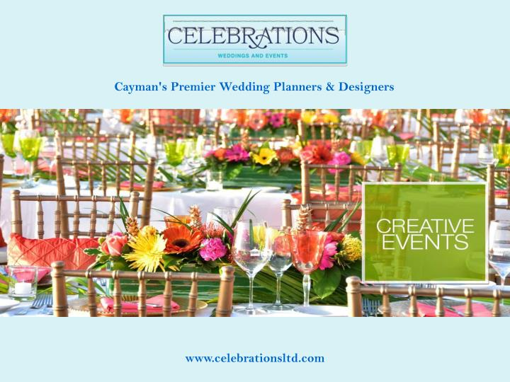 Cayman's Premier Wedding Planners & Designers