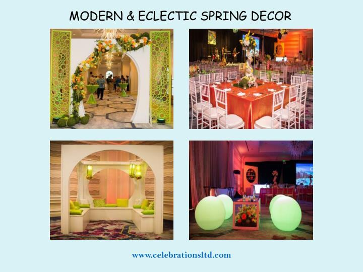 MODERN & ECLECTIC SPRING DECOR