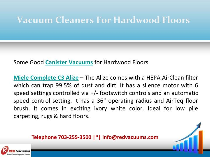 Vacuum Cleaners For Hardwood Floors