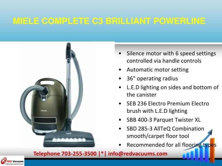 MIELE COMPLETE C3 BRILLIANT POWERLINE