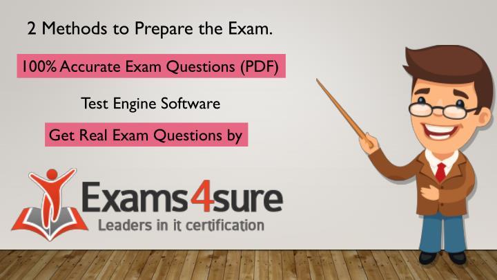 2 Methods to Prepare the Exam.