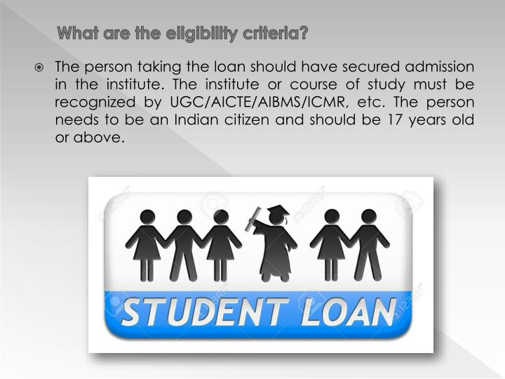 What are the eligibility criteria