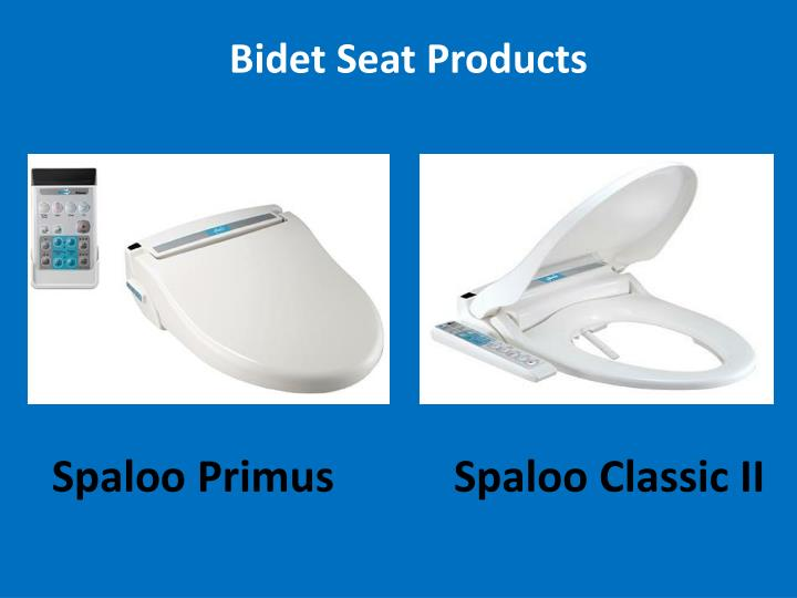 Bidet seat products