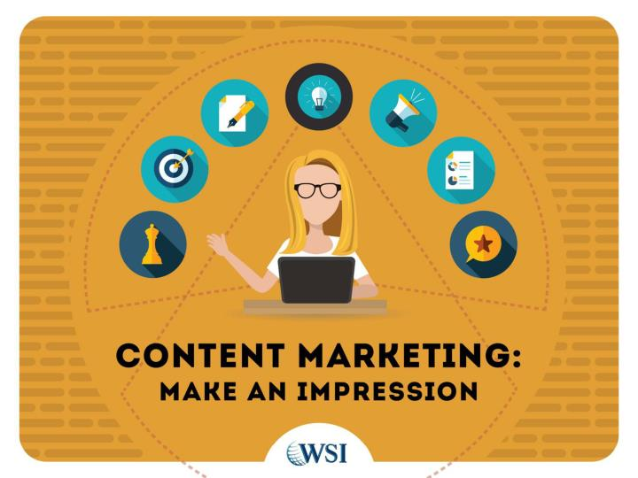 Content marketing makes an impression