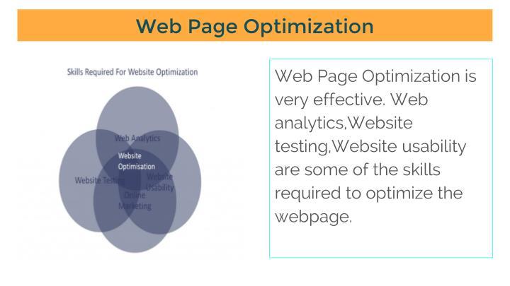 Web Page Optimization