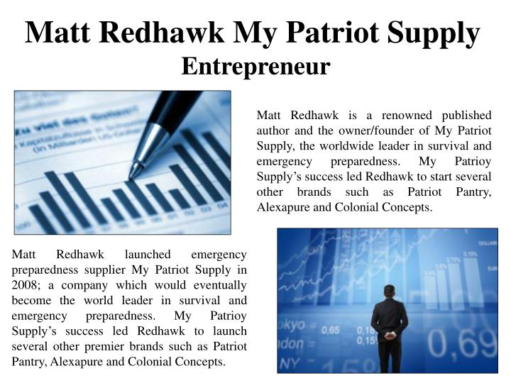 Matt Redhawk My Patriot Supply
