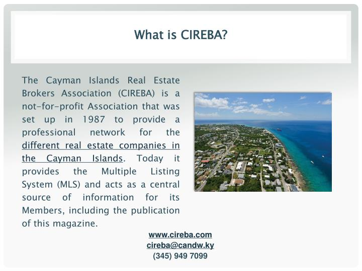 What is CIREBA?
