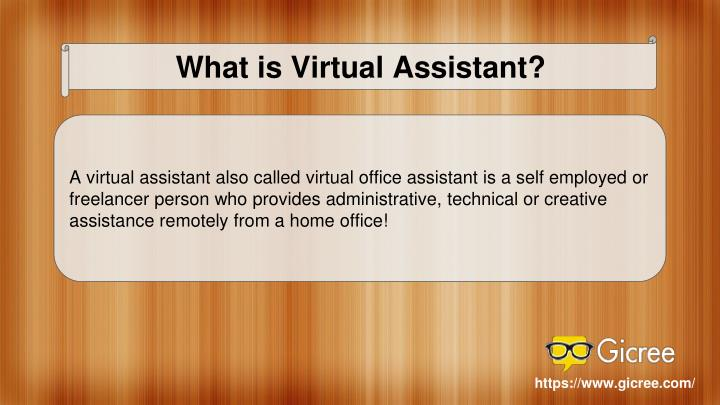 What is Virtual Assistant?
