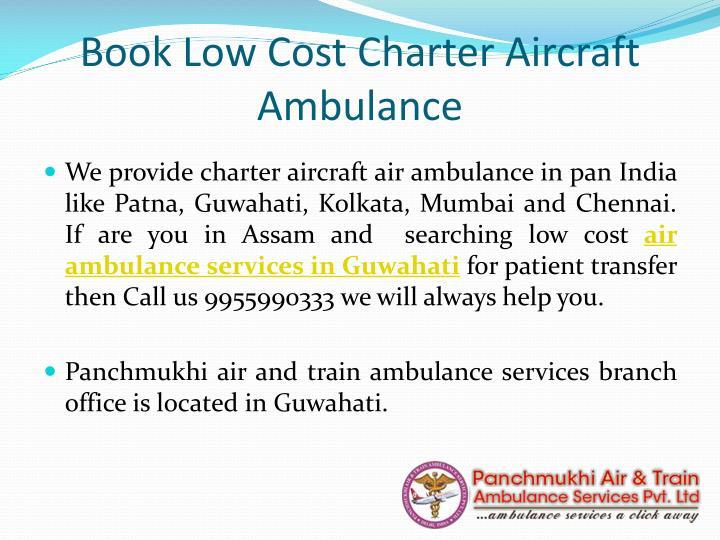 Book Low Cost Charter Aircraft Ambulance