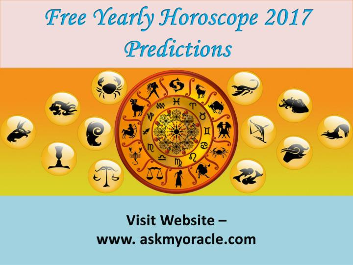 Free Yearly Horoscope 2017 Predictions