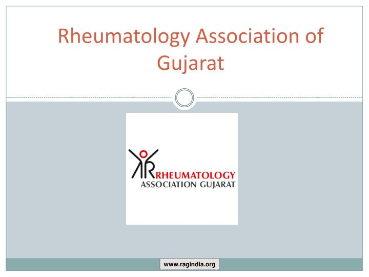 Rheumatology association of gujarat