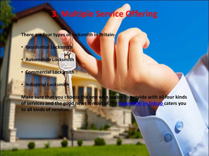 3. Multiple Service Offering