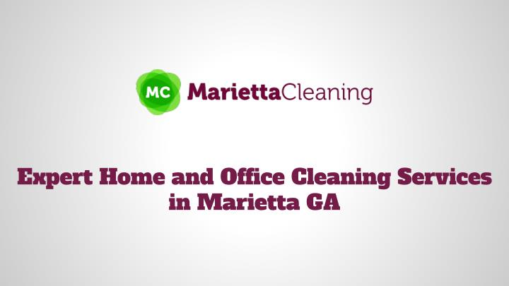 Expert Home and Office Cleaning Services