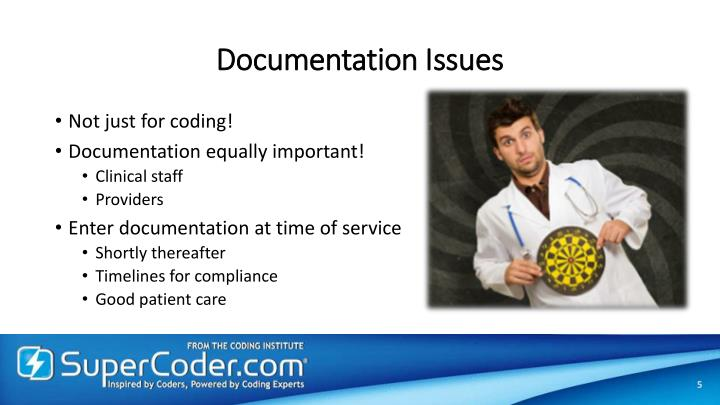 Documentation Issues